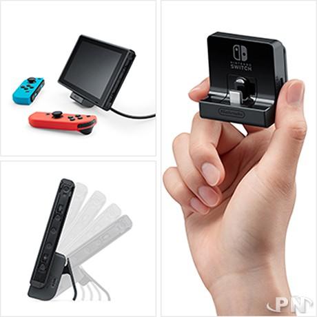 Nintendo Annonce Un Support De Recharge Inclinable Pour La