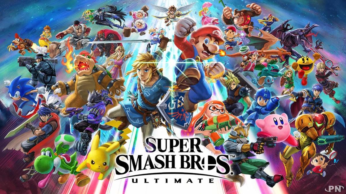 PN Award du meilleur jeu de l'année 2018 : Super Smash Bros. Ultimate