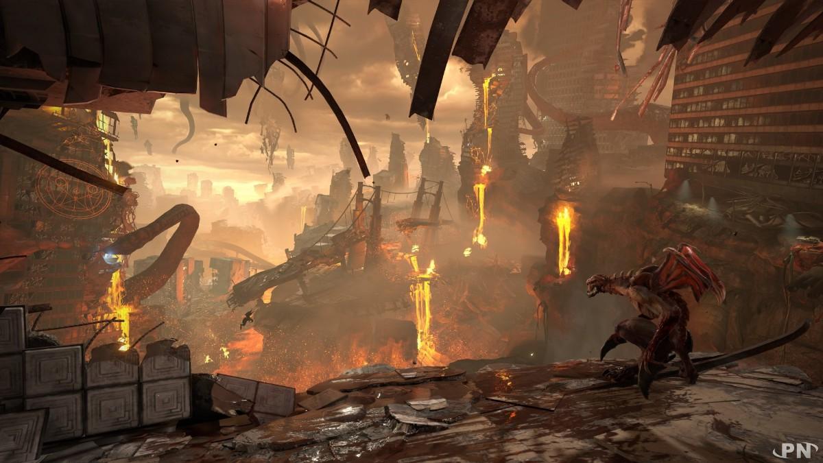 DOOM Eternal envoie du très très lourd dans une vidéo de gameplay inédite