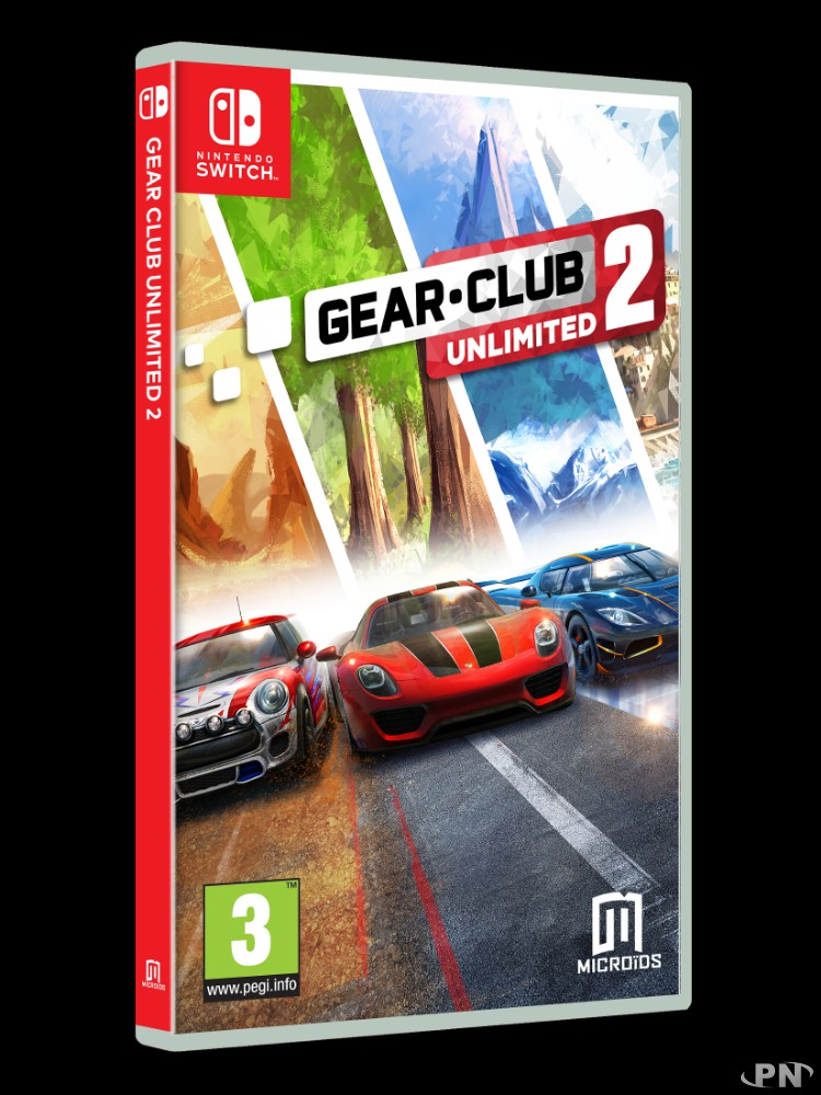 Jaquette Gear.Club Unlimited 2 (Switch)