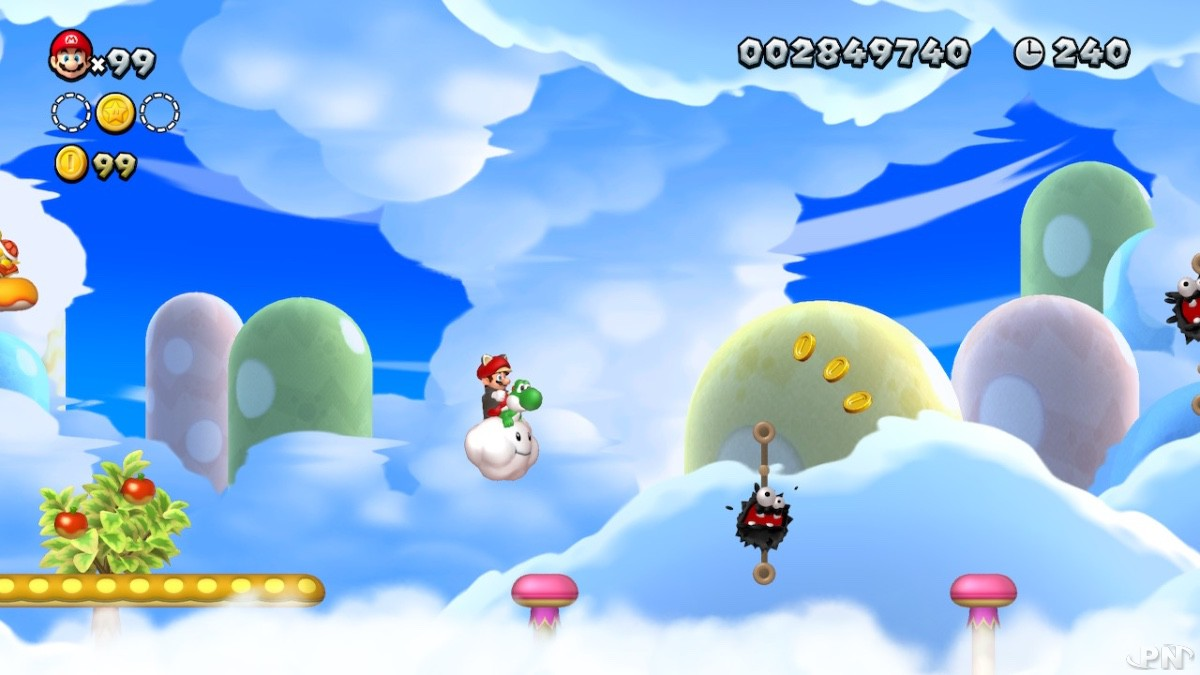 New Super Mario Bros U Deluxe sur Nintendo Switch