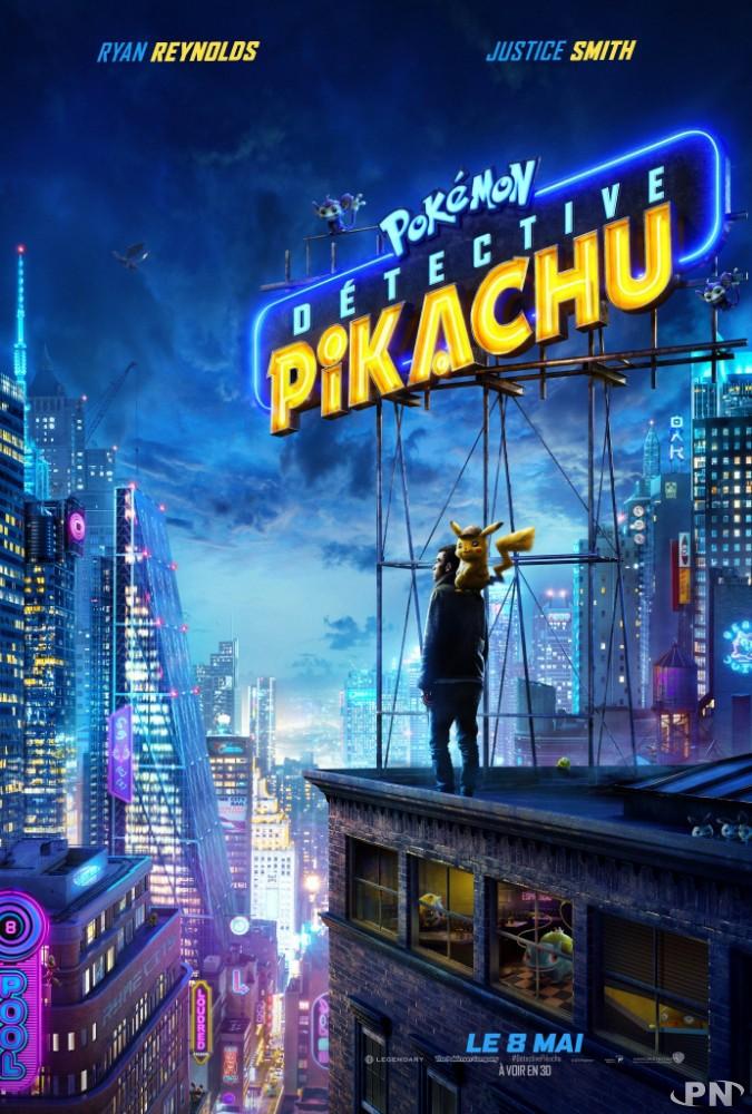 Affiche Détective Pikachu