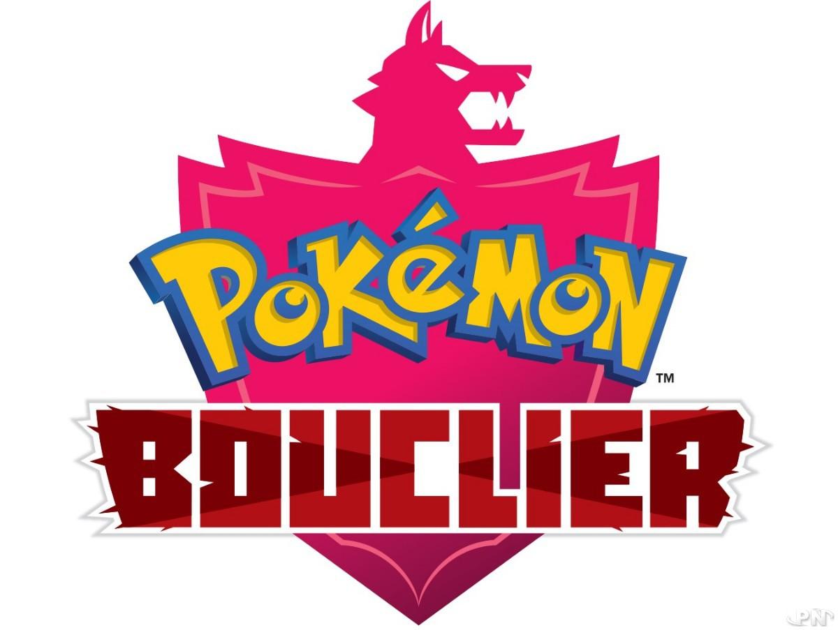 Logo Pokémon Bouclier