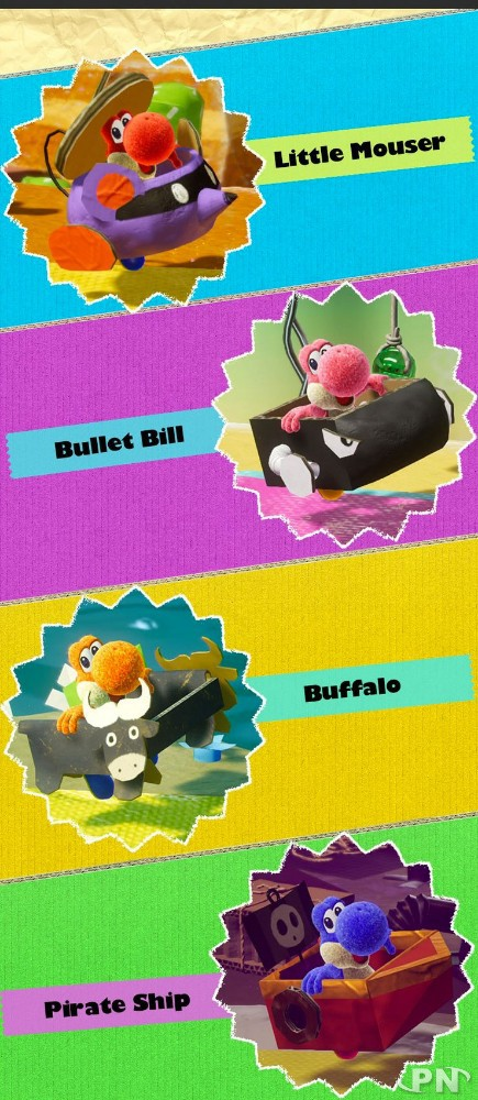 Costumes Yoshi's Crafted World