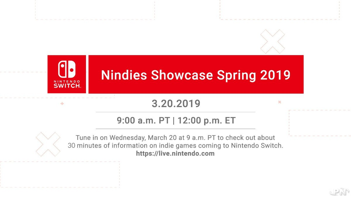 Nindies Showcase du printemps 2019