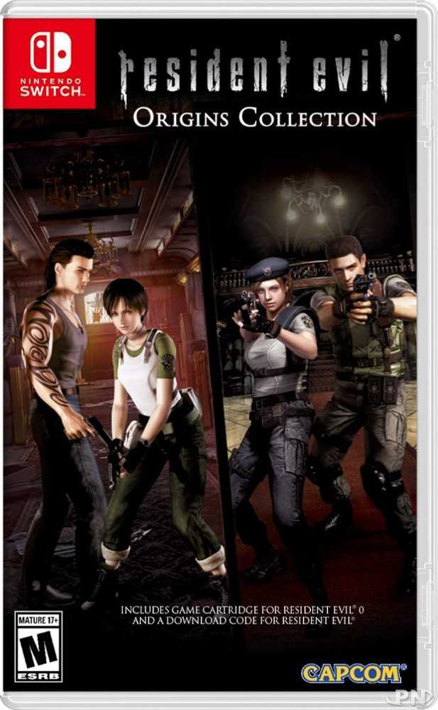 Jaquette Resident Evil Origins Collections (USA)
