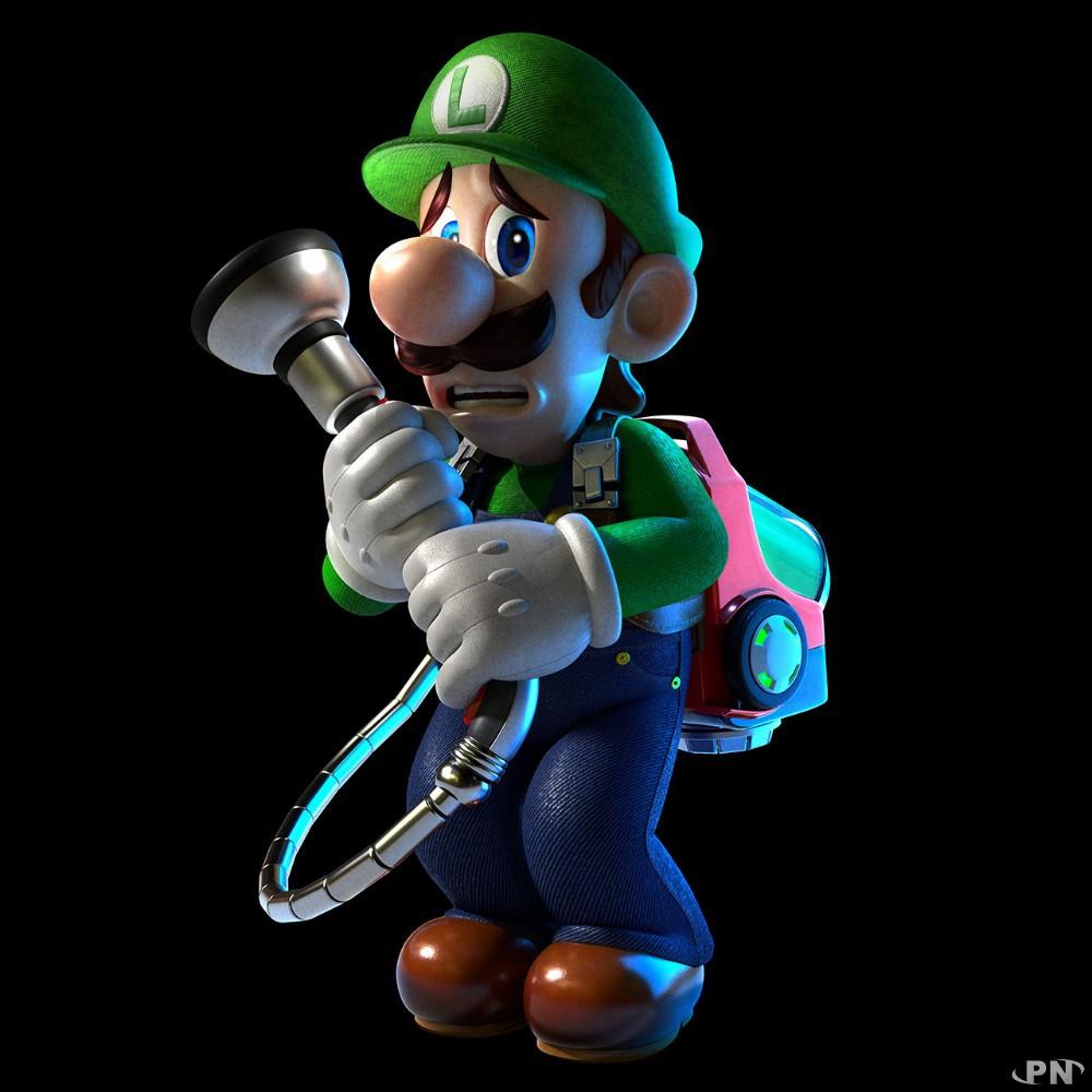 Luigi a peur mais a bien gagné aux PN Awards pour Luigi's Mansion 3 !