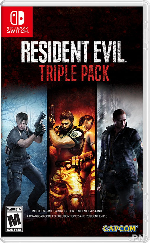 Resident Evil Triple Pack : RE4+RE5+RE6