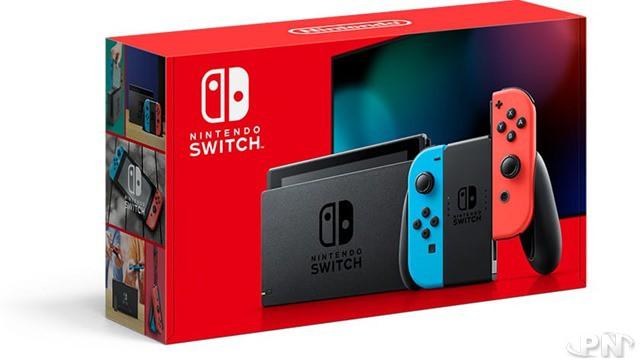 Packaging de la Switch Néon (édition 2019)