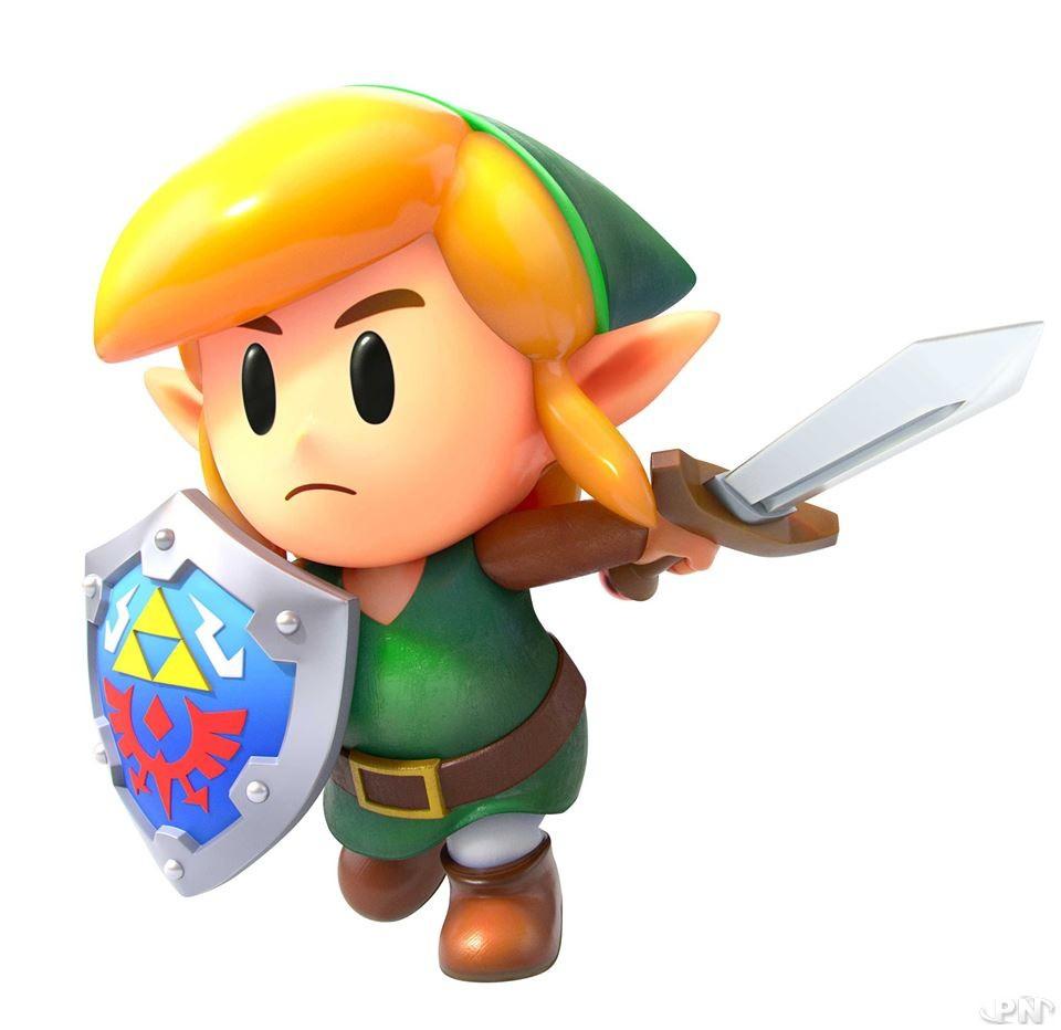Link dans Link's Awakening sur Nintendo Switch est trop mignon