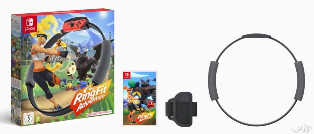 capture de RingFit Adventure sur Nintendo Switch