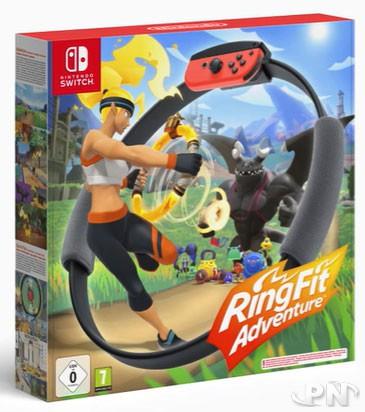 RingFit Adventure : packaging européen