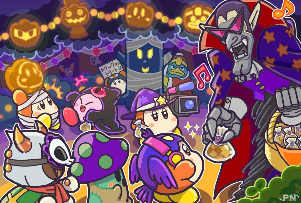 Artwork Halloween Kirby