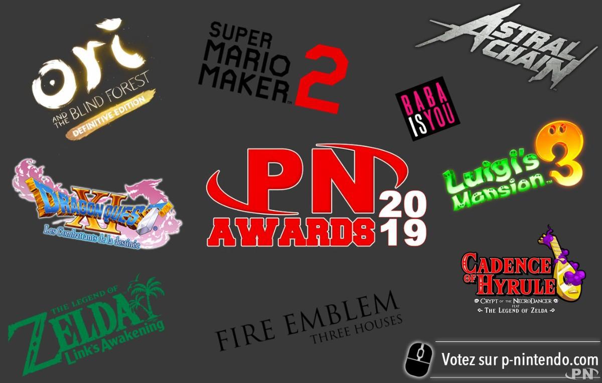 Nommés des PN Awards 2019