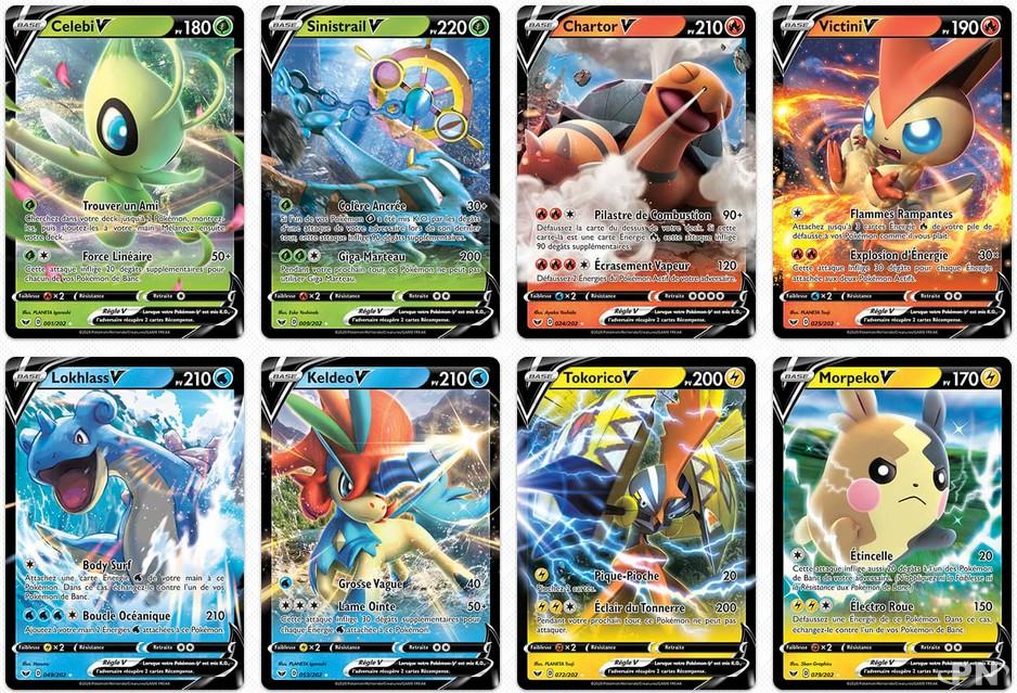 Collectionnez Les Nouvelles Cartes De Jeu Jcc Pokemon Epee Et Bouclier News Puissance Nintendo