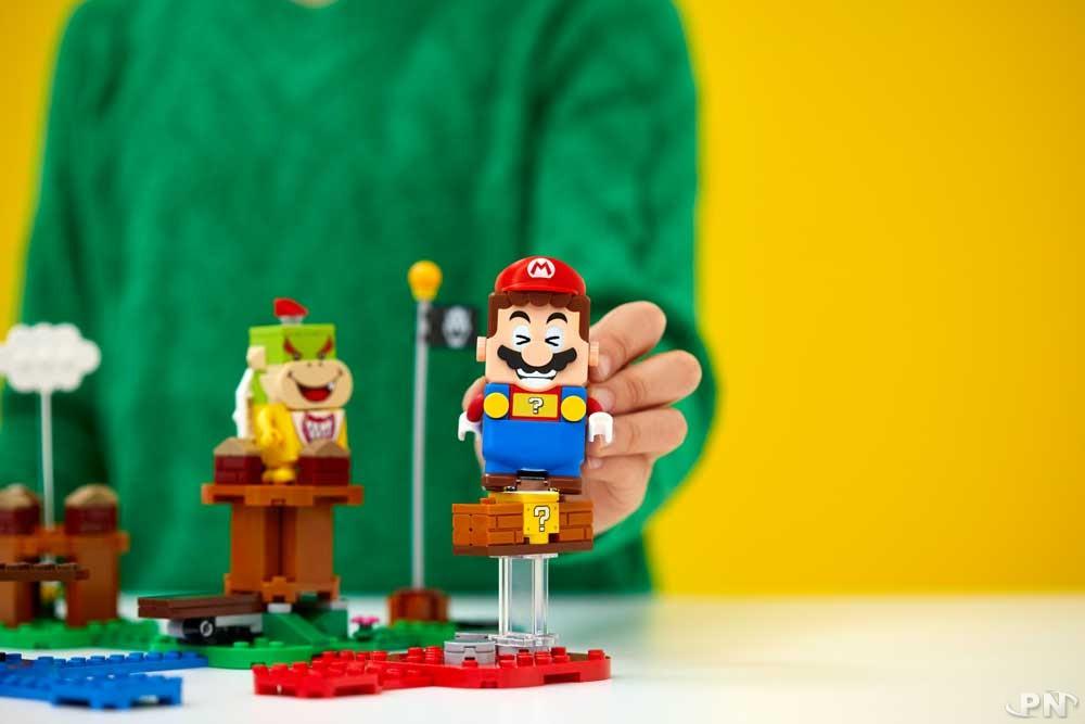 LEGO Super Mario Adventures with Mario