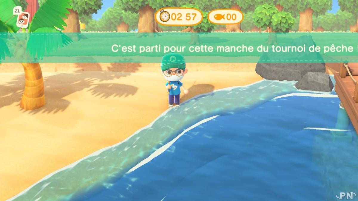 Conseils pour le Tournoi de pêche Animal Crossing New Horizons