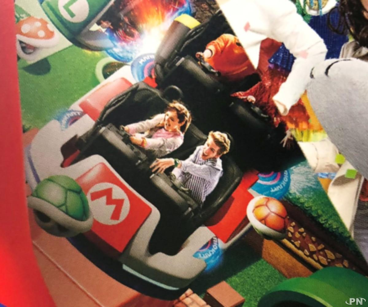 Rollercoaster Mario Kart à Super Nintendo World