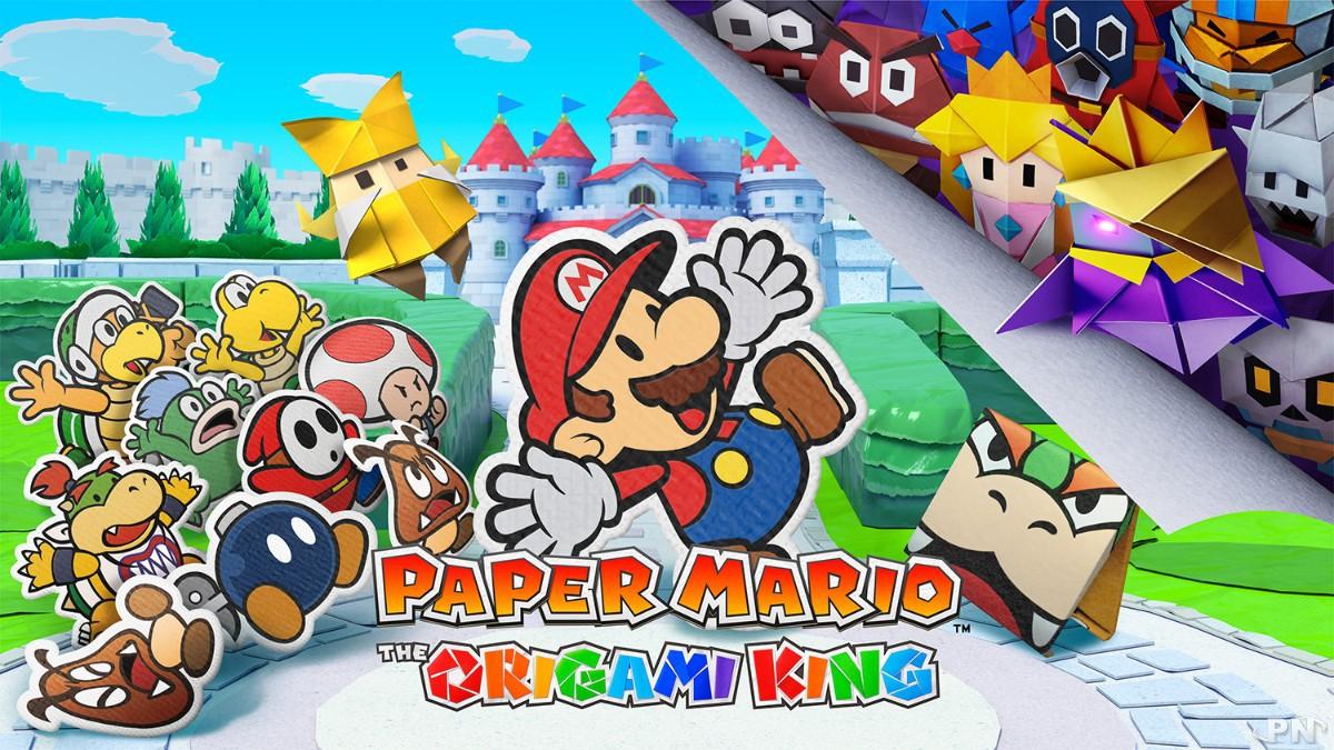 Paper Mario: The Origami King dévoilé et daté