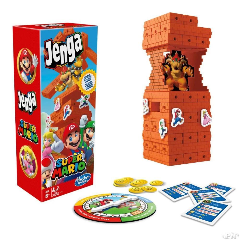 Hasbro Jenga Super Mario Celebration Edition