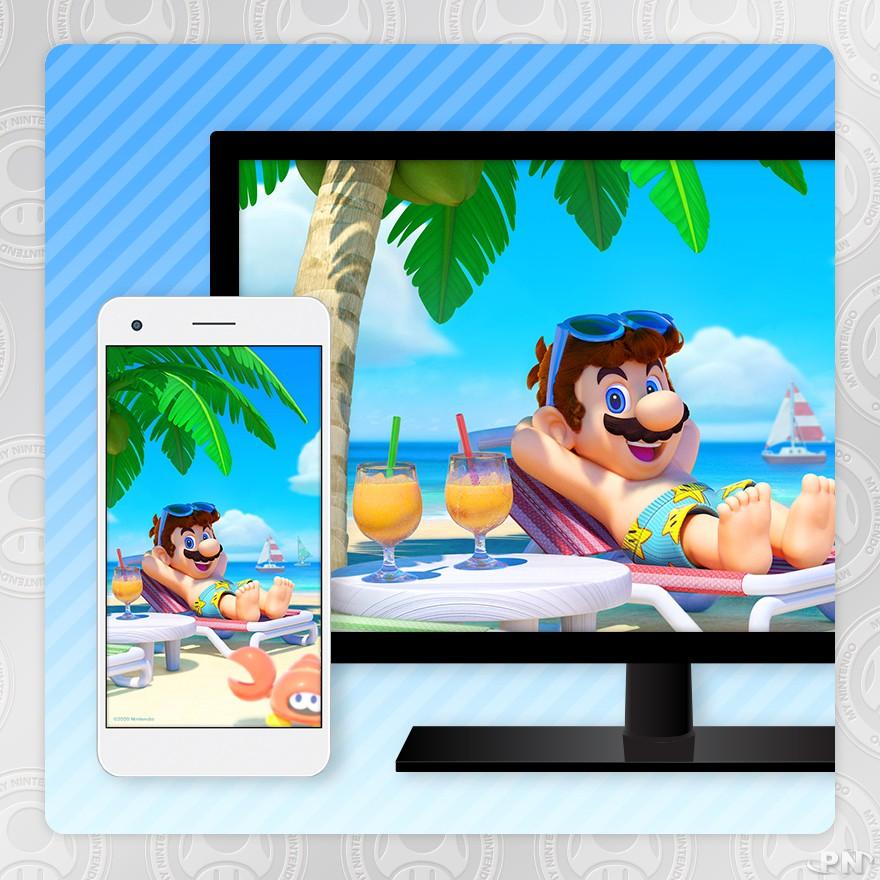 fond d'écran Mario (Japon)