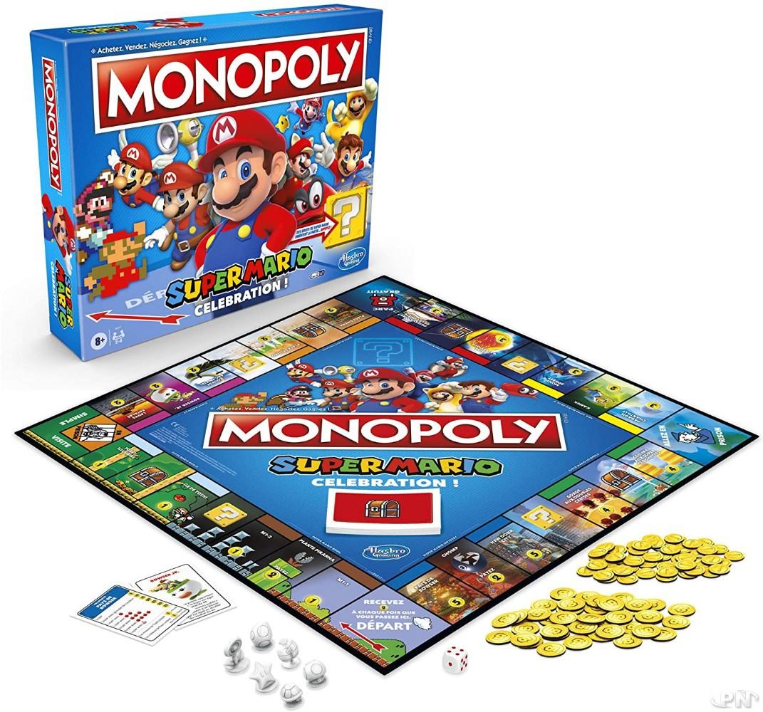 Jeu de société Monopoly Super Mario Celebration édité par Hasbro Gaming