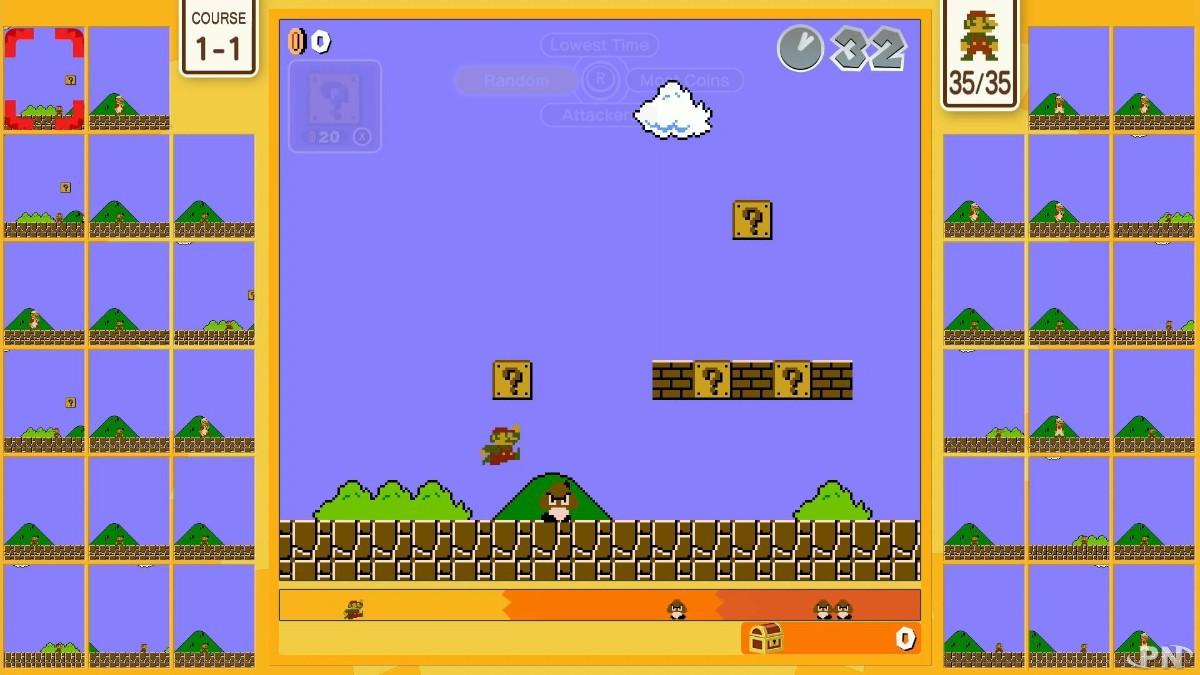 Super Mario Bros 35 sur Nintendo Switch : les défis mondiaux arrivent !