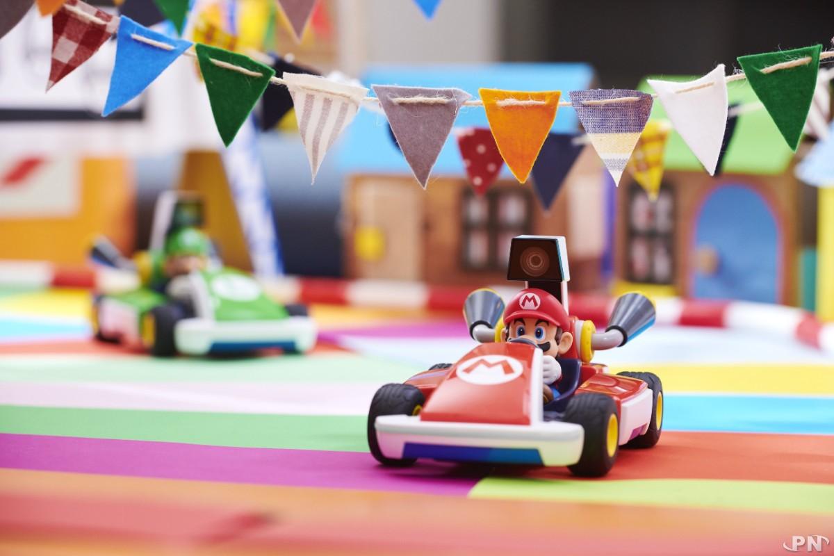 On n'aura pas tous de quoi faire des circuits aussi personnalisés dans Mario Kart Home Circuit