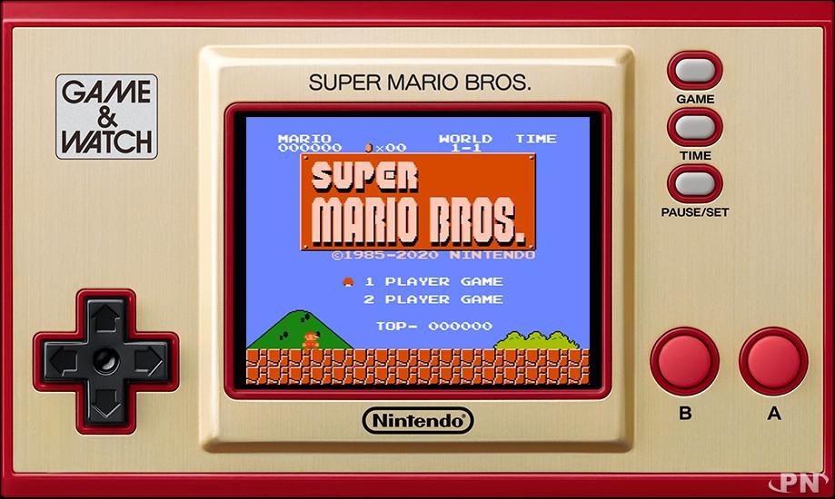 Game & Watch Super Mario Bros (2020)
