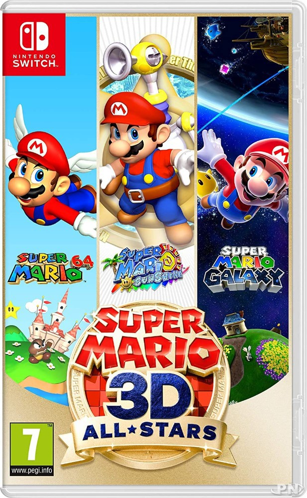 Jaquette Super Mario 3D All Stars (Switch)