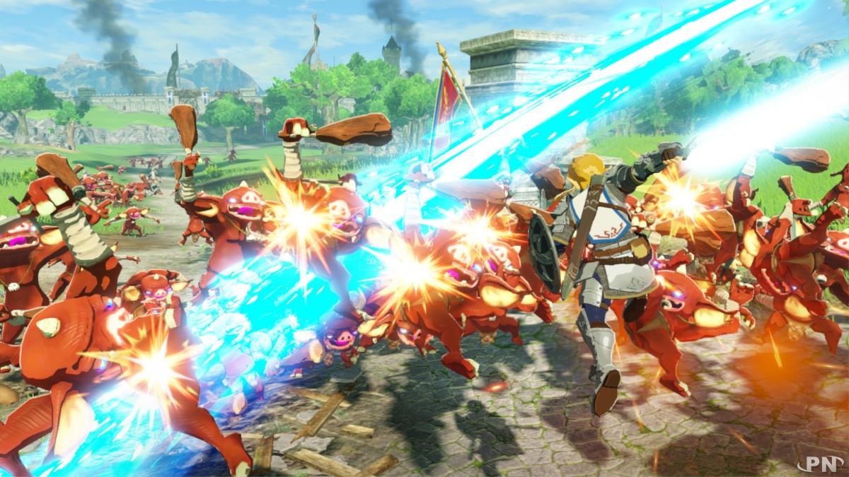 Hyrule Warriors : l'ère du fléau : un hack'n slash dans lequel on hack et on slashe !