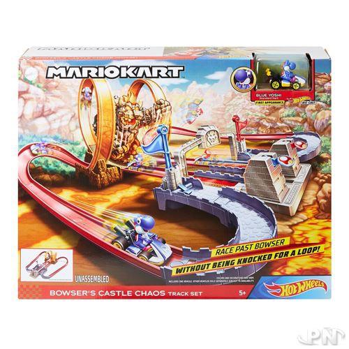 Circuit HotWheels Mario Kart Chateau de Bowser