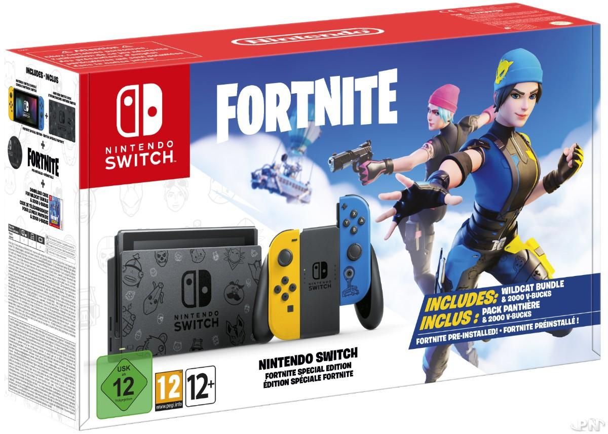 bundle Nintendo Switch + Fortnite