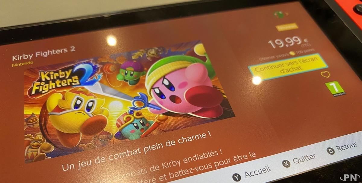 Kirby Fighters 2 disponible sur l'eShop Switch pour 19,99 euros