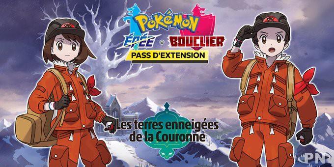 DLC Pokémon Epée et Bouclier : les terres enneigées de la couronne