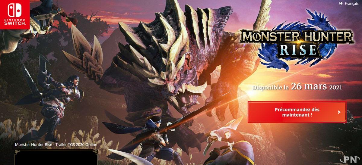 Monster Hunter Rise : une belle exclusivité pour la Switch
