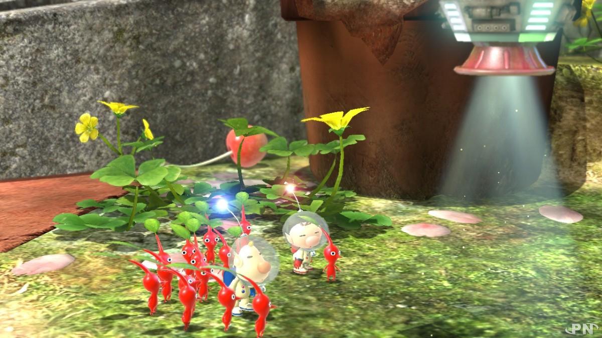 Les Pikmin sont toujours aussi adorables et serviables dans Pikmin 3 Deluxe