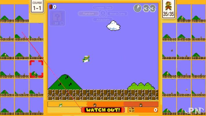 Luigi jouable dans Super Mario Bros 35 : comment l'obtenir ?