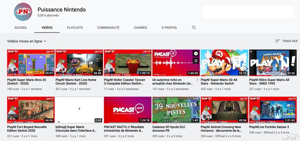 Abonnez-vous à la chaîne YouTube de Puissance Nintendo !