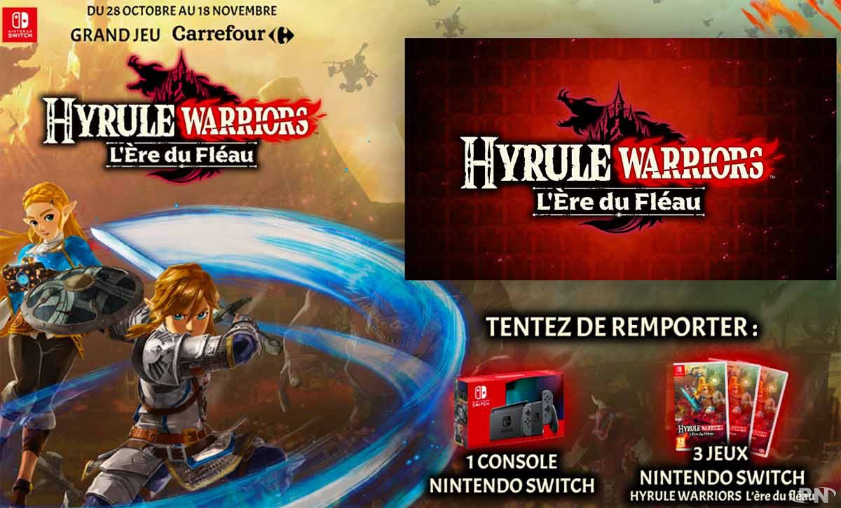 Pre Commande Hyrule Warriors L Ere Du Fleau Cadeaux Ou Offres Speciales Pour La Sortie News Puissance Nintendo