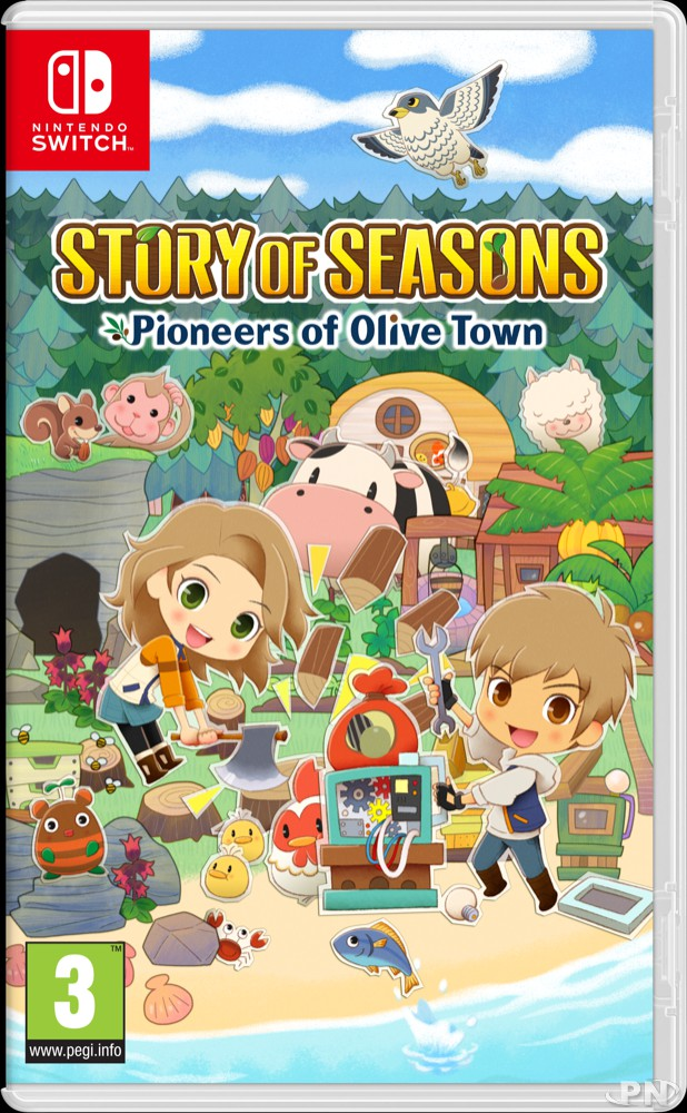 Jaquette Switch européennes de Story of Seasons: Pioneers of Olive Town