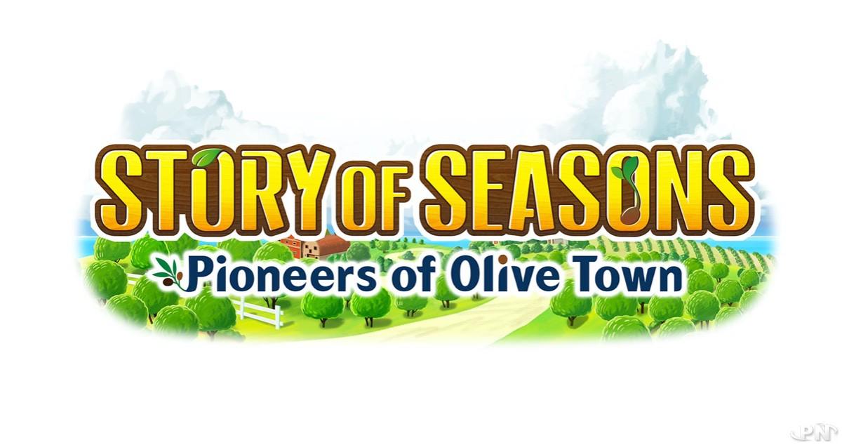 Logo du jeu Story of Seasons: Pioneers of Olive Town