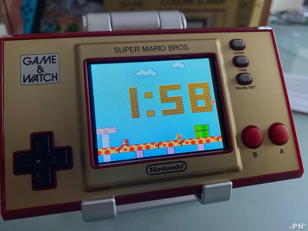 la Game & Watch Super Mario Bros