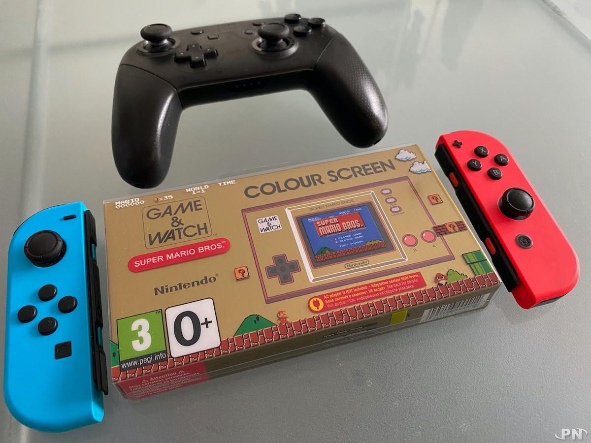 Emballage de la Game & Watch Super Mario Bros