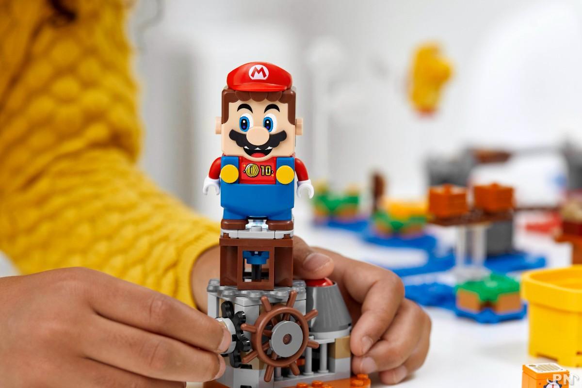 De nouveaux items Mario dans la collection LEGO Super Mario avec le nouveau Set de créateur Invente ton aventure