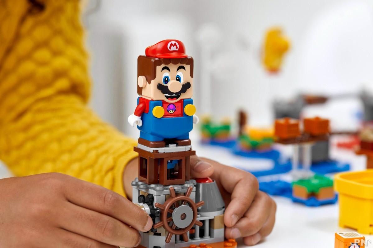 Set de créateur Invente ton aventure LEGO x Super Mario