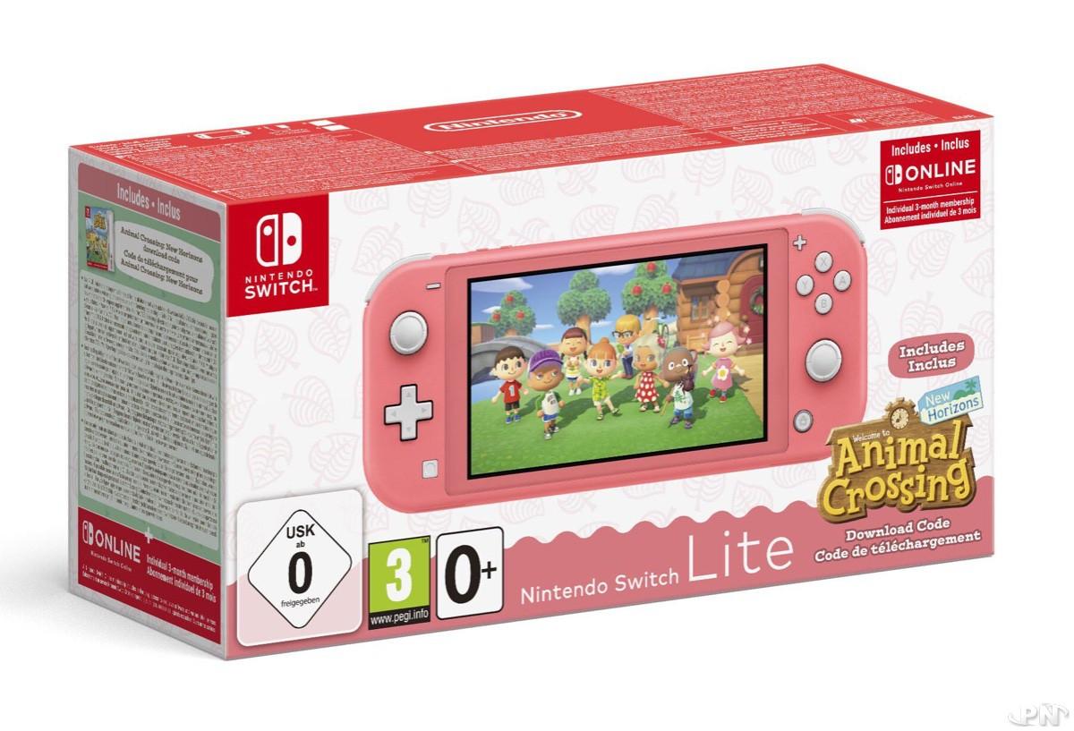 Nintendo Switch Lite Turquoise Animal Crossing: New Horizons