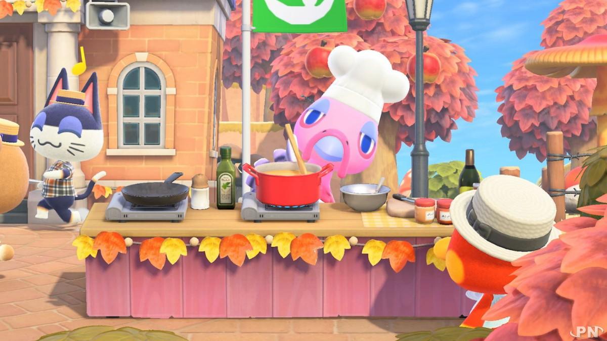 Vous avez loupé Thanksgiving en 2020 dans Animal Crossing: new Horizons !