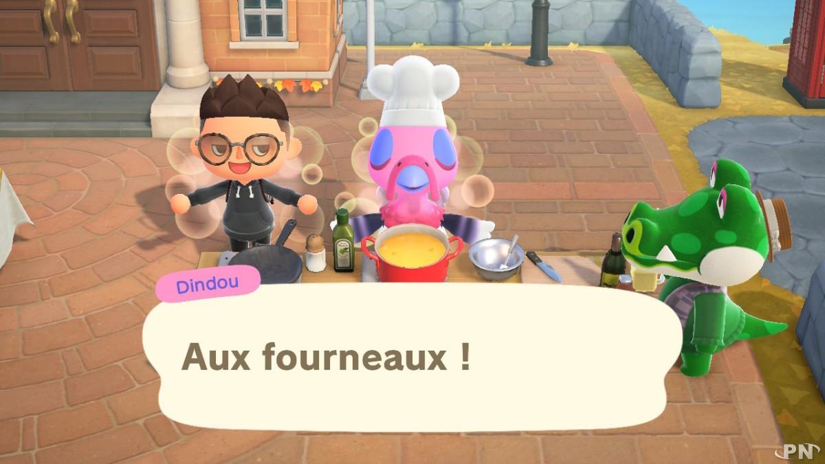 Thanksgiving dans Animal Crossing: New Horizons