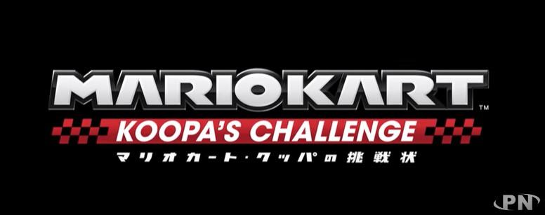 Logo de l'attraction Mario Kart Koopa's Challenge